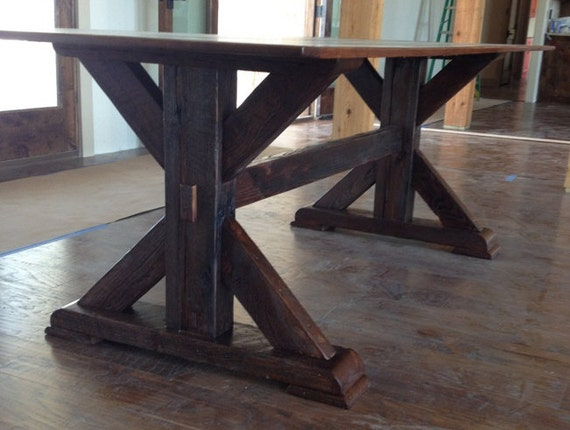 Items Similar To Dining Room Table Made From Reclaimed