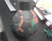 Grenade Paper Mache Pinata