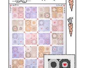 HBH301 - Summer Wind queen size quilt  PATTERN
