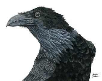 Art Print. Raven Croft 3