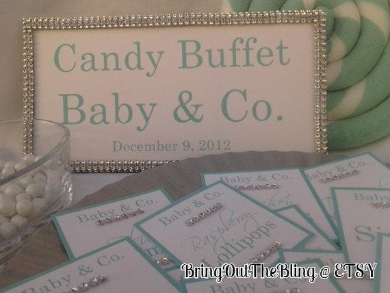 ... to Tiffany & Co. Candy Buffet Set - Frame Plus Candy Sings on Etsy