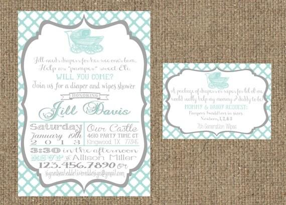 Wedding Registry Invitation: Unavailable Listing On Etsy