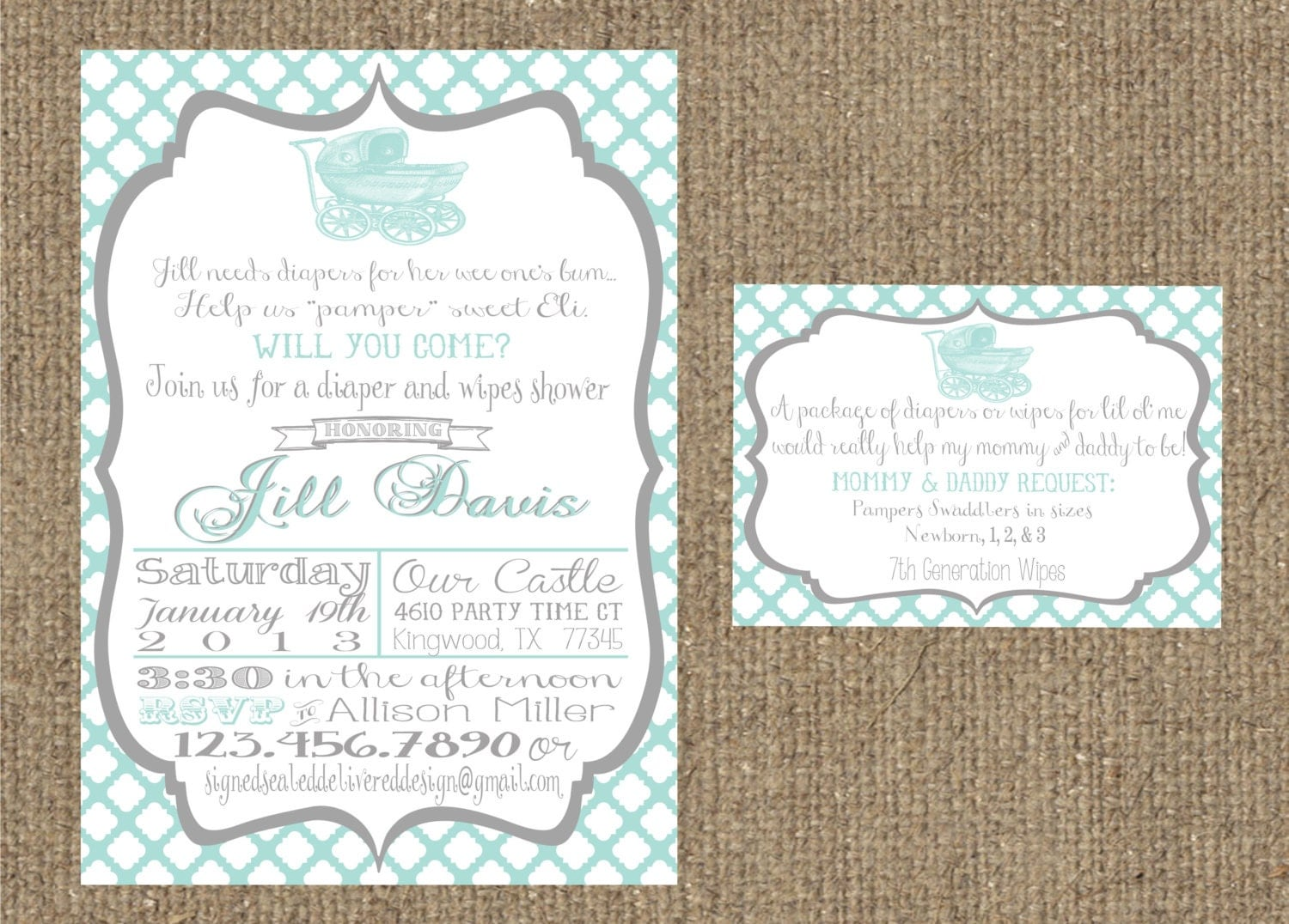 Target Wedding Registry Invitation Inserts