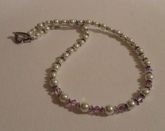 Crystal Necklace - Royal Elegance