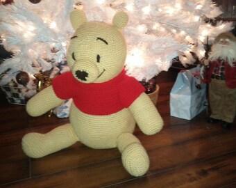 Winnie the Pooh Crochet Stuffed Animal