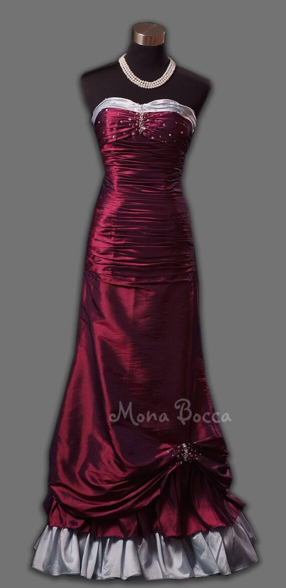 Victorian prom dress