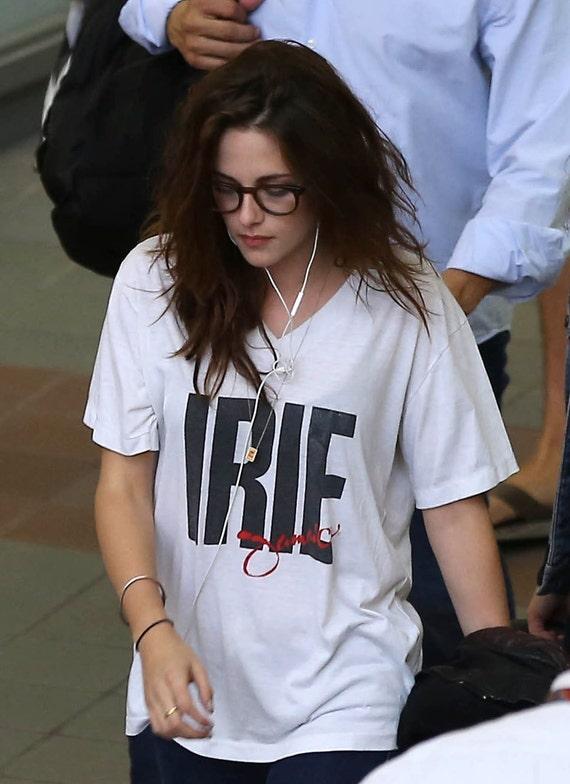 Kristen Stewart - Iree jamaica t-shirt white brand new