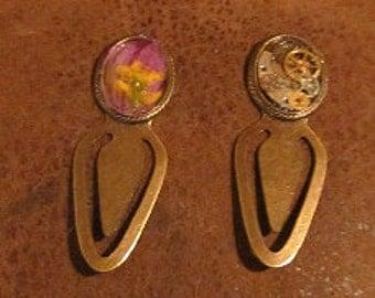 Handmade Steampunk & Flower garden collection