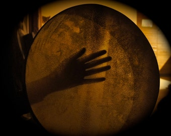 20-23 in. Custom made shaman Drum