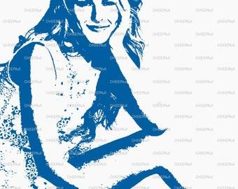 Bridgit Mendler Matted Print