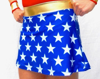 iGlow stars running skirt without compression shorts (Ready for shipping)