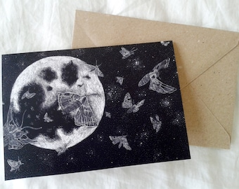 Moths Greeting Card