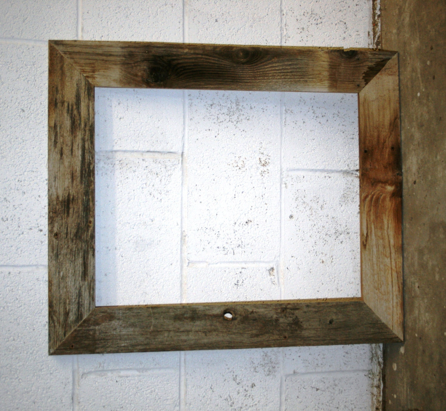 handmade wood picture frames custom chunky x 3 barn wood picture frames for nayako 549
