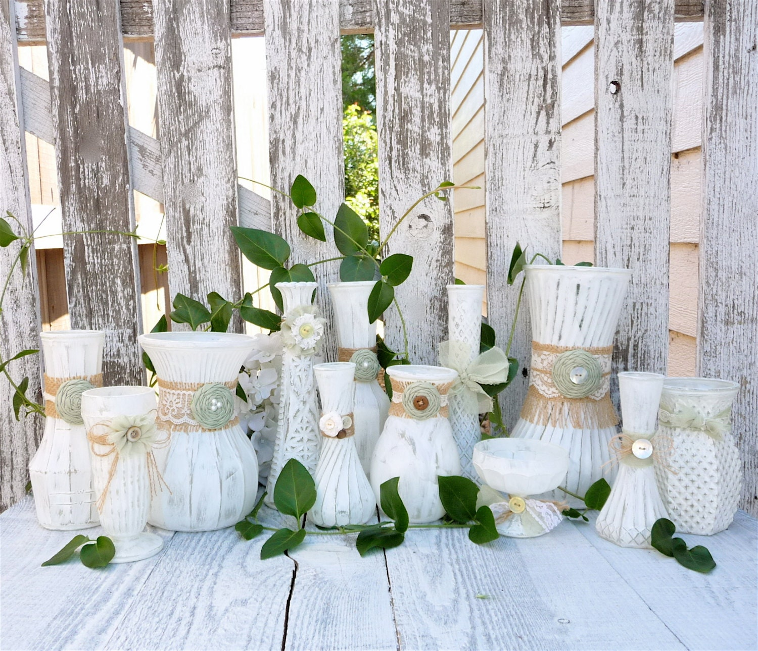 Popular items for wedding vases on Etsy
