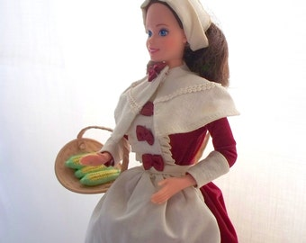 Vintage Barbie, American Stories Barbie Collection, Pilgrim Barbie Doll