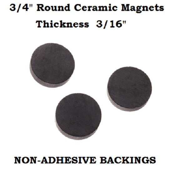 40 3 4 Quot Round Magnets Diy Crafts Buttons Cabochon