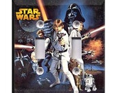 Star Wars - Classic Double Light Switch Plate Cover