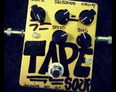 Tape Soup, real true pitch shifting vibe effects pedal for your guitar, bass, or whatever you like