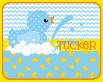 Duck bathroom rug