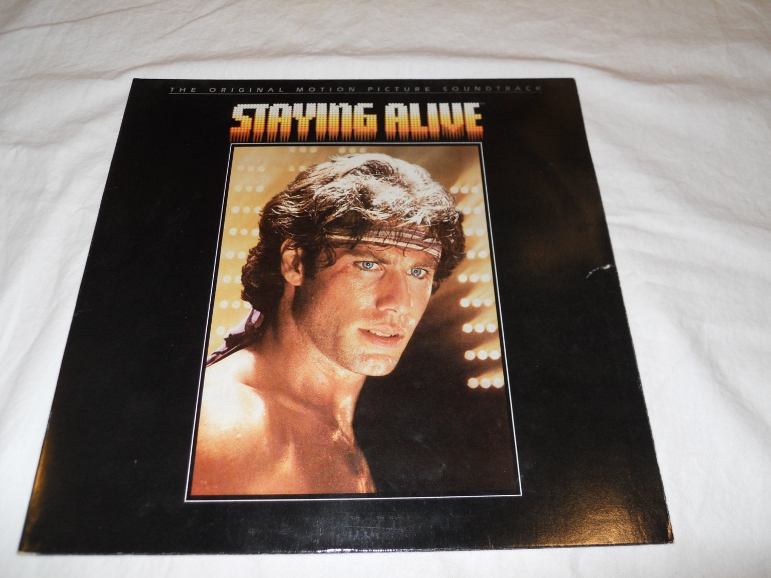 Staying Alive Motion Picture Soundtrack Vinyl Record Lp