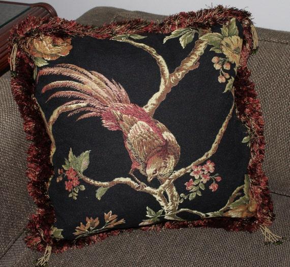 Decorative Pillow 18 X 18 Majestic Bird On By