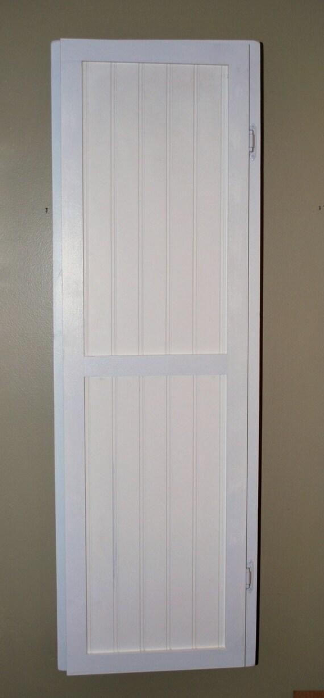 Beadboard Closet Doors Inset In