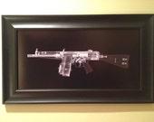 HK 51 machine gun CAT scan gun...