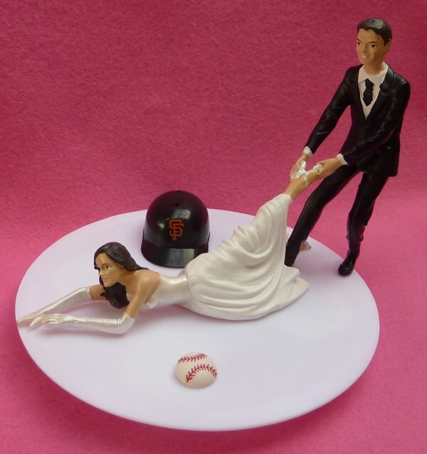 Similiar SF Giants Wedding Cake Topper Keywords
