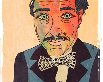 Tennessee Williams-Art Print or Art Block