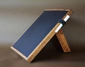 Desk Chalkboard / Wood Chalkboard for table /  Rustic  Decoration / Kitchen Chalkboard pad