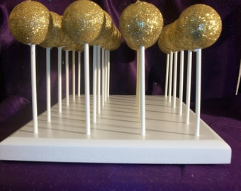 Handcrafted 24 Hole Cake Pop Stand Holder Pops
