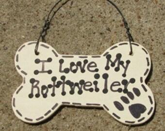 29-2083PUG 2083PUG - I Love My  Rottweiler or We love our Rottweiler