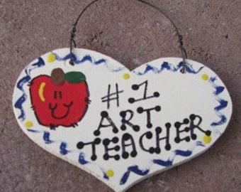 Teacher Gifts Number one Art Teacher