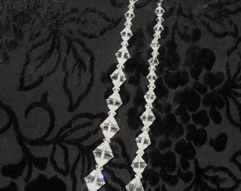 Antique Crystal/Glass Choker Necklace 1910-1920