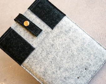 Ipad tablet sleeve case - wool felt 3mm thick