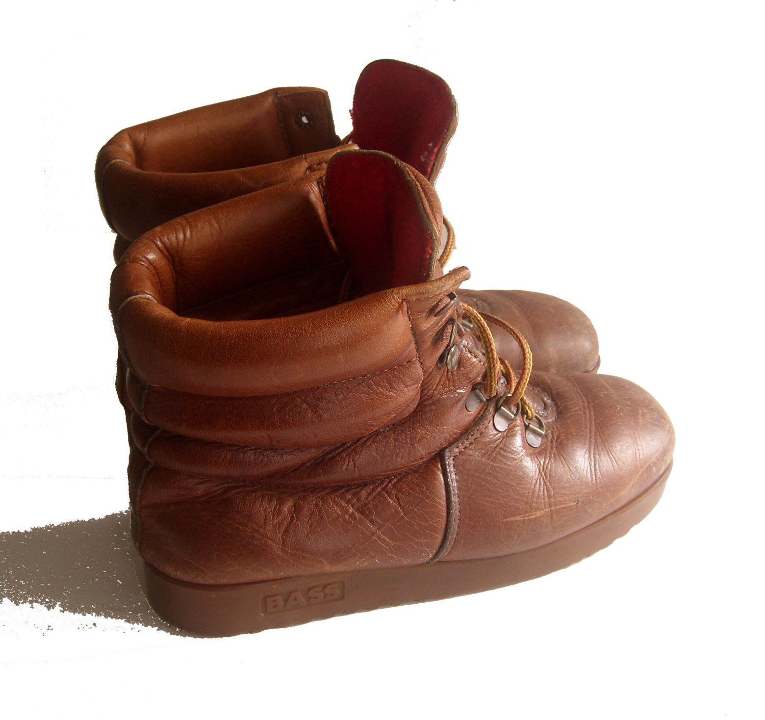 Womens Soft Leather Walking Boots 42