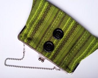 Vintage fabric handbag