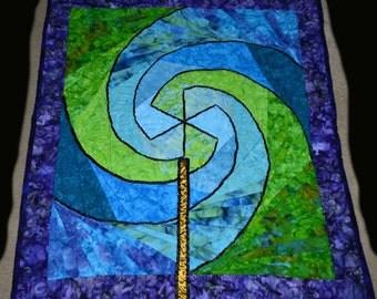 Pinwheel Lollypop Quilt