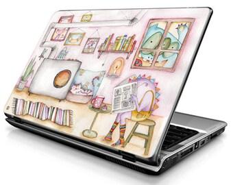 Room (colorful) - Laptop Decals - Laptop Skins - Laptop Stickers - Laptop Vinyl