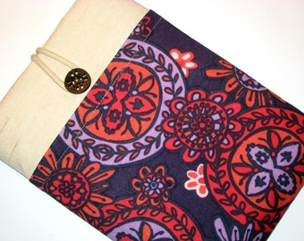 iPad mini cover , iPad mini case, iPad mini sleeve, Padded, Handmade iPad mini case, Kindle, Kobo, Nook, Tablets