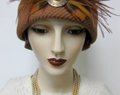 Terracotta and Acanthus Leaf Cloche