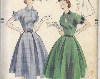 1951 Vogue 3435 Dress Pattern, Size 13