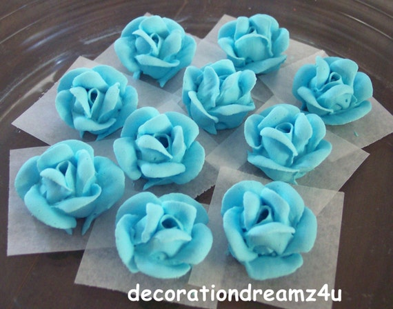 wedding cake toppers icing flowers 10 edible edible flower edible topper edible 26498