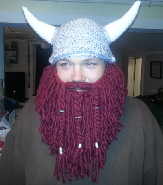 Crochet Viking Beard Hat Pattern Free : Unavailable Listing on Etsy