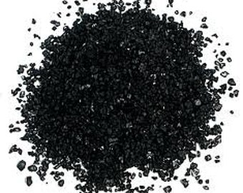 Black Hawaiian Salt Bulk 16 OZ Great For Bath Salts,Soapmaking,Crafts