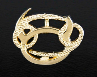 15 Taurus and Cancer Gold Unity Pendant