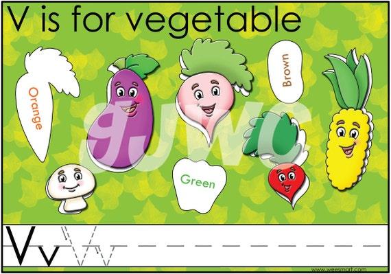 V Is For Vegetables V is for Vegetable Alp...