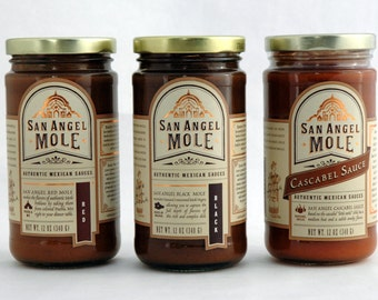San Angel Mole Mixed 3 Pack