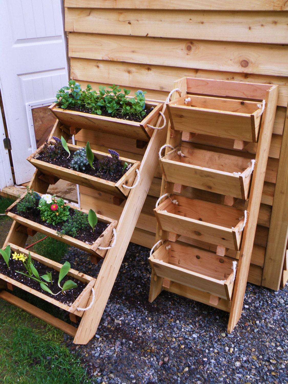 Large Gardening Planters Raised Bed Gardening By Ropedoncedar