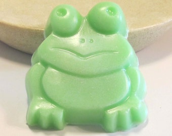 frog shaped soap, lime soap, lime scented soap, kids soap,  green soap,  animal shaped soap, frog soap